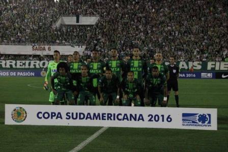 Chapecoense x Atletico Nacional - 2016 South American Cup final