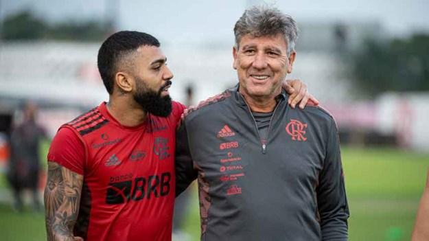 Gabriel e Renato Gaúcho - Flamengo