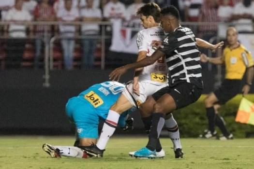 Rodrigo Caio - São Paulo x Corinthiansq