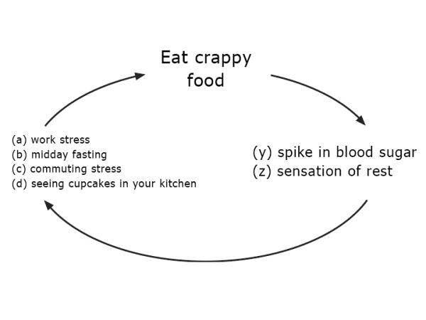 Example habit loop