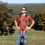Pat Tylek hiking