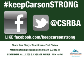 KeepCarsonStrong