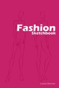 Fashion Design sketchbook is now selling on Amazon.