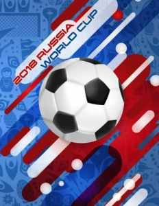 2018 Russia World Cup Notebook: Football / Soccer Team 100 Pages Journal Paper for fans