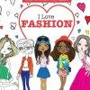 I Love Fashion (Crazy Colouring For Kids)