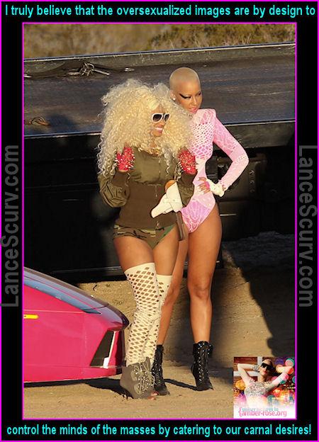 Amber Rose & Nicki Minaj