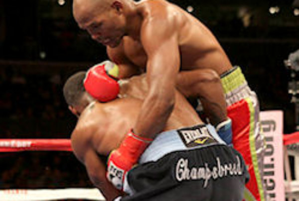 The Funny Pages – Bernard Hopkins Rude Awakening!