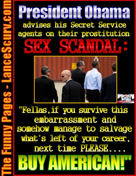 Secret Service Sex Scandal