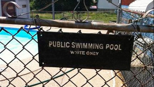 White Only Swimming Pool