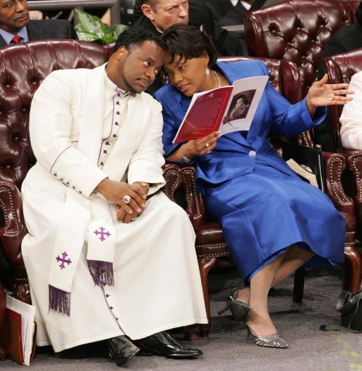 Bernice King And Eddie Long
