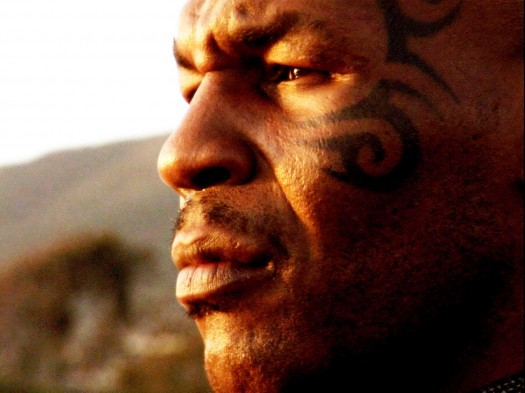 Mike Tyson Close Up