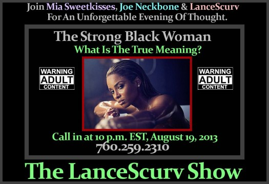 Strong Black Woman Graphic