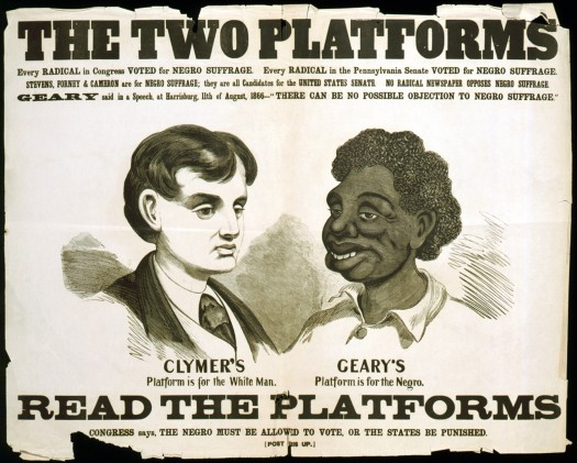 Racist Campaign Poster