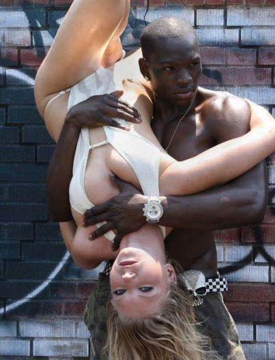 amusing sex pictures black man with white woman