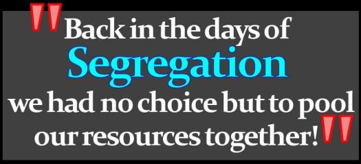 Segregation Graphic