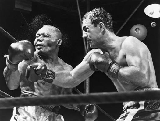 Rocky Marciano, Jersey Joe Walcott, Fighter