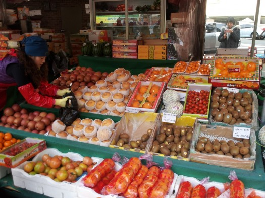 Korean Fruit Market - Kneegrows