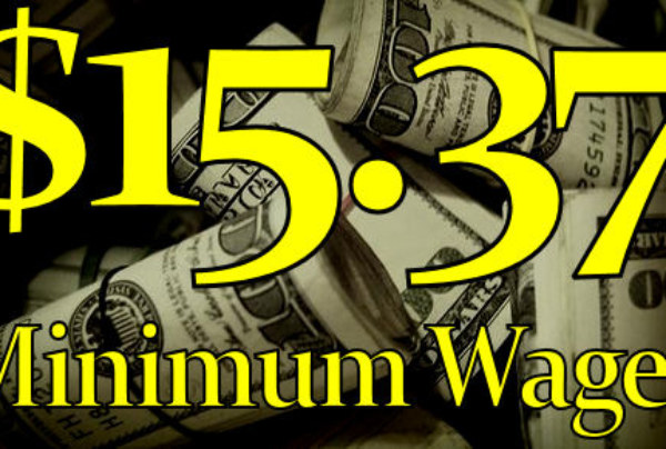 Proof The Minimum Wage Is Supposed To Be $15.37! – The LanceScurv Show