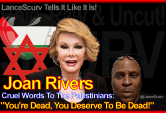Has Joan Rivers Cruel Words To The Palestinians Come Back To Bite Her? – The LanceScurv Show