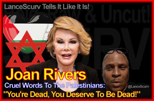 Has Joan Rivers Cruel Words To The Palestinians Come Back To Bite Her?