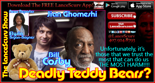 Deadly Teddy Bears Bill Cosby & Jian Ghomeshi