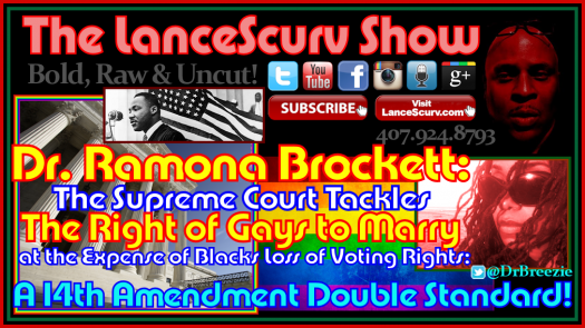 Ramona Brockett Gay Rights Voting Rights Graphic