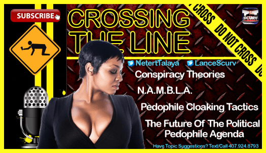 Crossing The Line # 3 Template