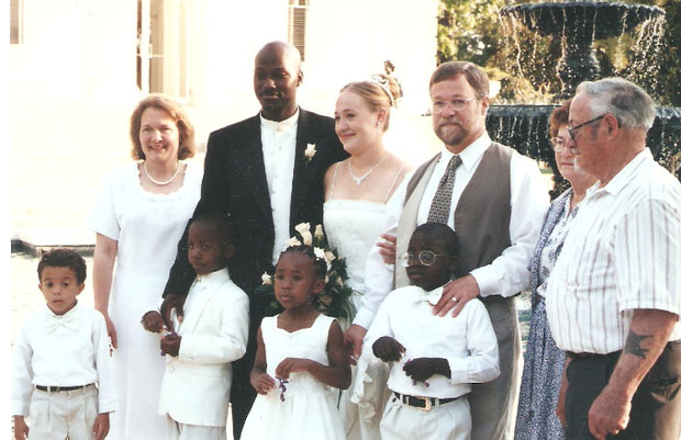 Rachel Dolezal Wedding Photo