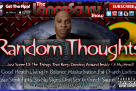 Random Thoughts # 2 – The LanceScurv Show