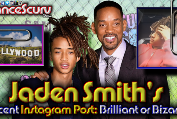 Jaden Smith's Recent Instagram Post: Brilliant Or Bizarre? – The LanceScurv Show