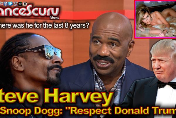 "Steve Harvey To Snoop Dogg: ""Respect President Donald Trump!"" – The LanceScurv Show"