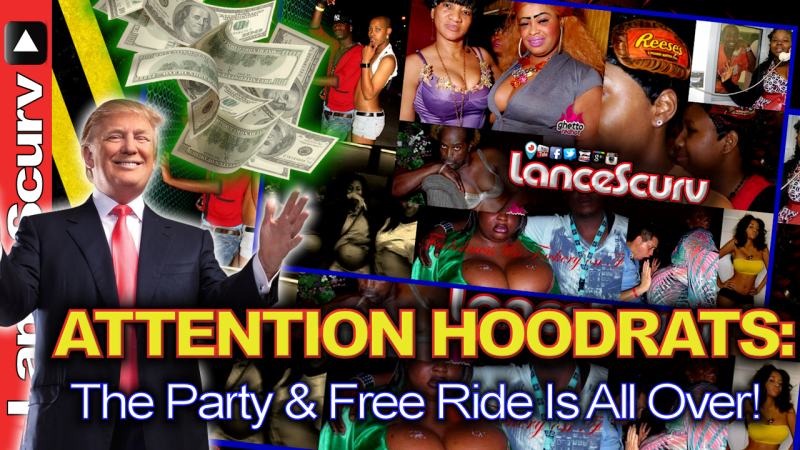 Attention Hoodrats: The Party & Free Ride Is All Over! - The LanceScurv Show