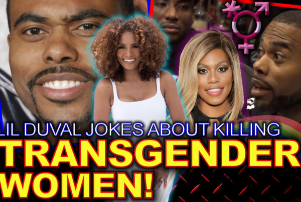 TRANSGENDER WOMEN: Lil Duval Jokes About Killing Them! – The LanceScurv Show