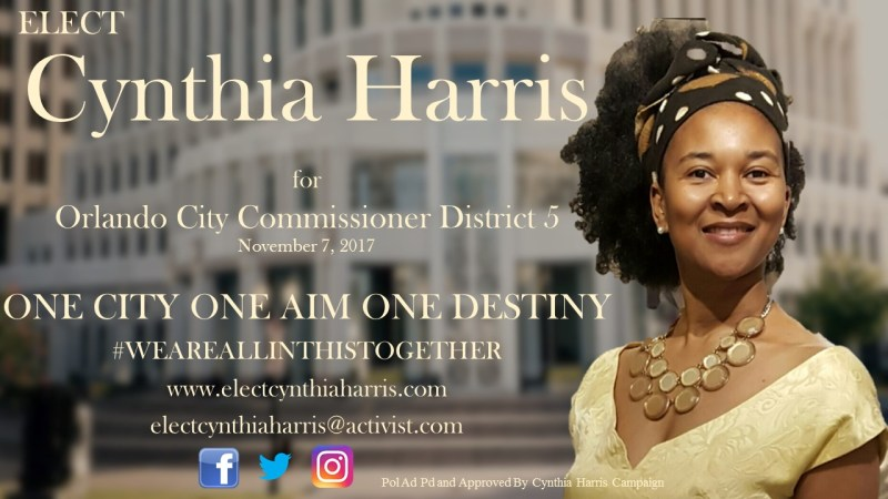 A Conversation With Orlando City Commissioner District 5 Candidate CYNTHIA HARRIS! - The LanceScurv Show