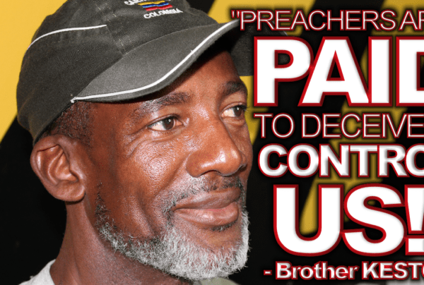 PREACHERS ARE PAID TO DECEIVE & CONTROL US! – The LanceScurv Show