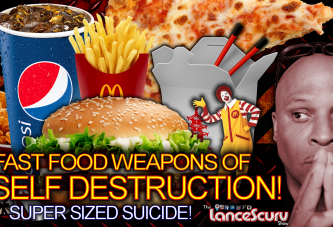 SUPER SIZED SUICIDE: Fast Food Weapons Of Self Destruction! – The LanceScurv Show