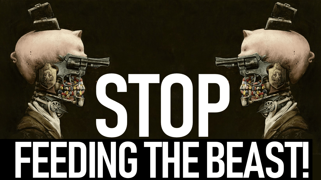 WE HAVE TO STOP FEEDING THE BEAST! - Brother Keston Live