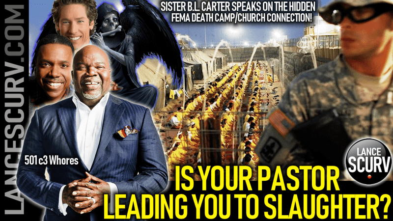 IS YOUR PASTOR LEADING YOU TO SLAUGHTER? - Sister B.L. Carter On The LanceScurv Show