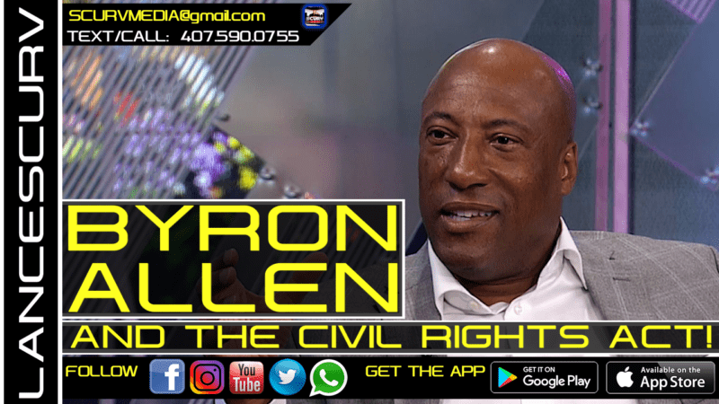 In this episode of The LanceScurv Show, Brother Dave once again shares his very powerful insightful perspectives on the Byron Allen Breakfast Club interview, his Comcast lawsuit and the connection to the Civil Rights Act of 1966. This is mandatory listening!