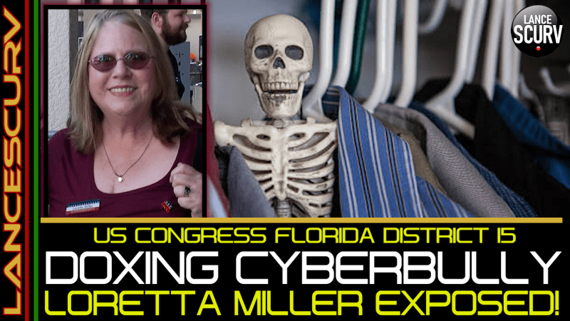 JEWISH U.S. CONGRESS CANDIDATE LORETTA MILLER USES DOXING/CYBERBULLY TACTICS ON BROTHER KESTON!