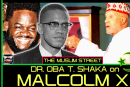 DR. OBA T. SHAKA SPEAKS ON THE LIFE OF MALCOLM X TO MALIK AZIZ ON THE MUSLIM STREET!
