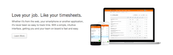 Harvest - employee time tracking software