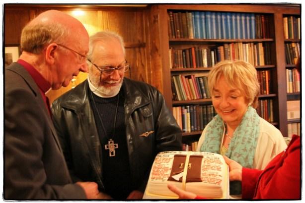 Admiring the Cake - Image copyright Lancia E. Smith