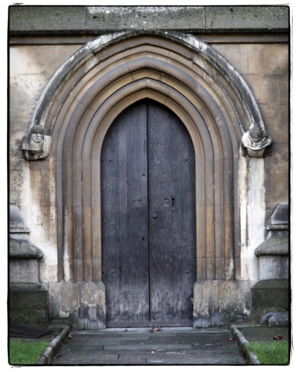 Gothic Door at Westminster Abbey - Image (c) Lancia E. Smith - www.lanciaesmith.com