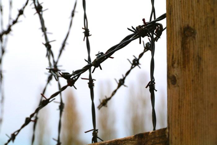 Dachau taggtrådsstängsel.
