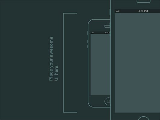Free Wireframe Prototyping Tools Iphone Wireframe by Ashton Snook      Iphone Wireframe by Ashton Snook