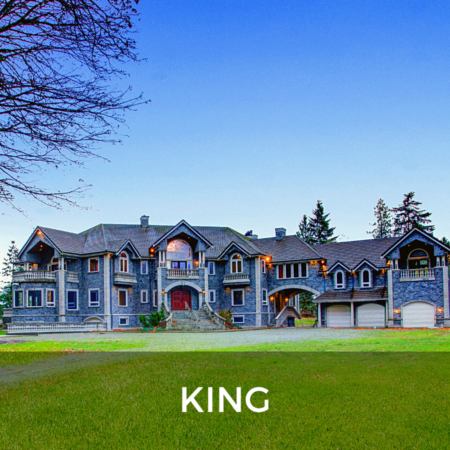 King - York Region - Country Mansion