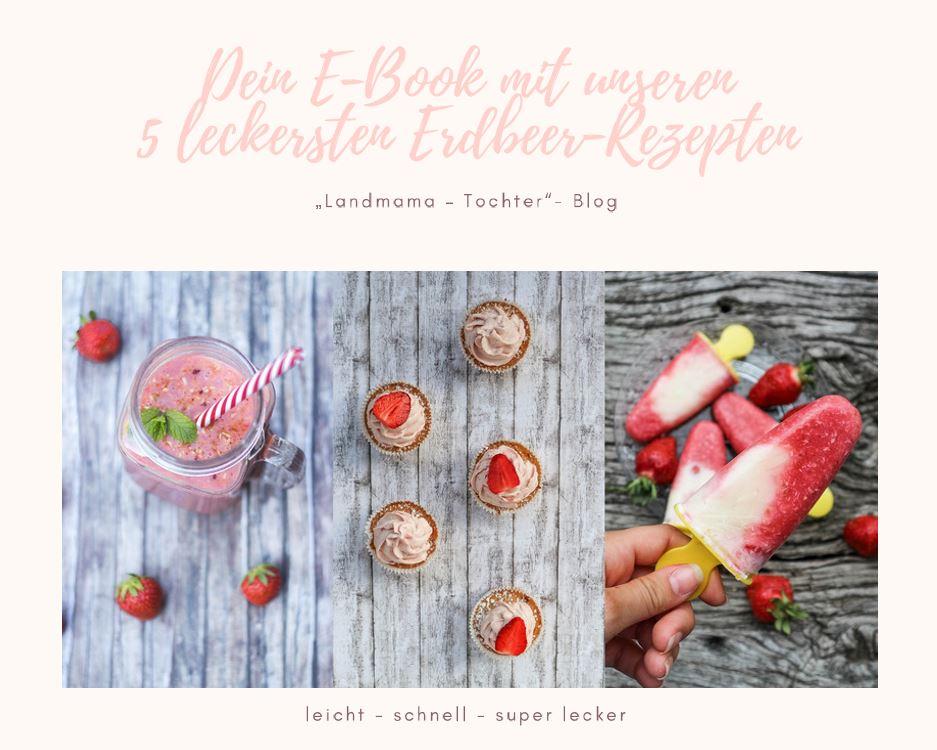 Dein E-Book mit unseren 5 leckersten Erbeer-Rezepten