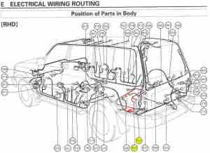 Rear diff lock actuator  no power getting to it | Land