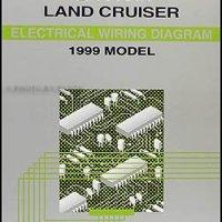 1999 Toyota Land Cruiser Wiring Diagram Manual Original